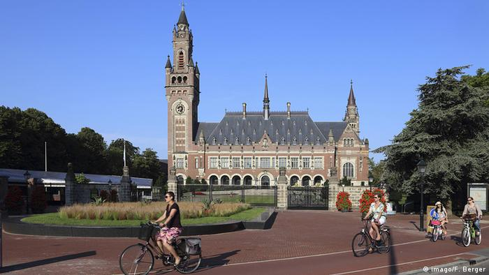 the International Court of Justice in The Hague (Foto: F. Berger/imago)