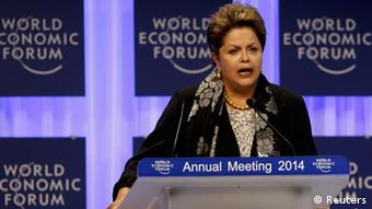 Dilma Rousseff in Davos