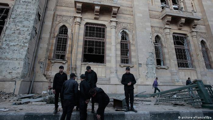 Ägypten Anschlag auf Polizeihauptquartier in Kairo 24.01.2014