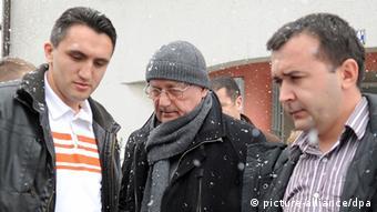Josip Perkovic besteigt Flugzeug in Zagreb