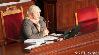 Mehrezia Laabidi, Vizepräsidentin der Verfassungsversammlung