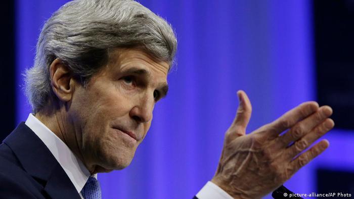 US-Außenminister John ohn Kerry (Foto: AP)