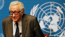 Lakhdar Brahimi / Syrien-Gespräche / UN / Genf