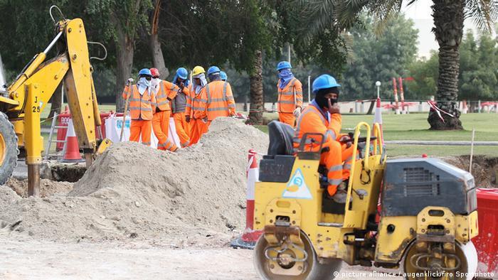 WM Baustelle Katar