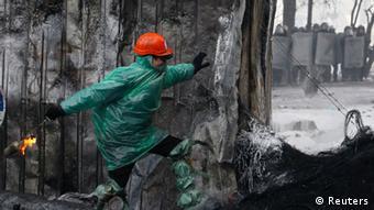 Gewaltsame Ausschreitungen in Kiew (Foto: REUTERS/Vasily Fedosenko)