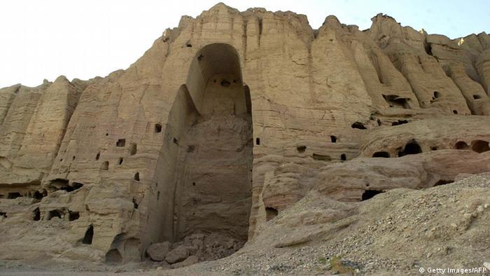 Im Krieg zerstörte Kulturstätten Bamiyan Buddha Stauen (Getty Images/AFP)