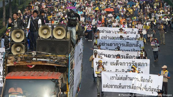 Demonstrationen in Bangkok