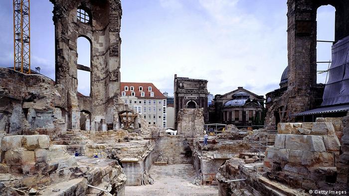 Так выглядела церковь после бомбардировки