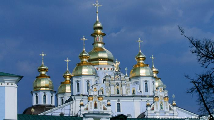 Orthodox Church of Saint Michael in Kyiv (Photo: picture alliance/Arco Images GmbH)