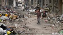 Krieg in Syrien Homs 26.01.2014