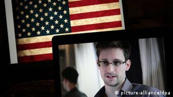 Edward Snowden / USA / Bildschirme / NSA