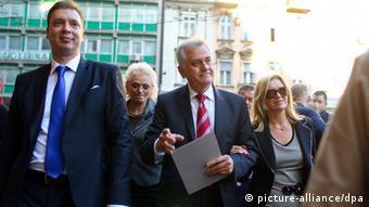 Srbijanski premijer Vučić i predsjednik Nikolić