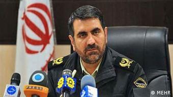 سردار حسین ساجدینیا، رئیس پلیس تهران بزرگ