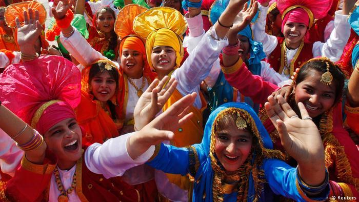 Indien Nationalfeiertag 26.Januar 2014 Feier (Reuters)