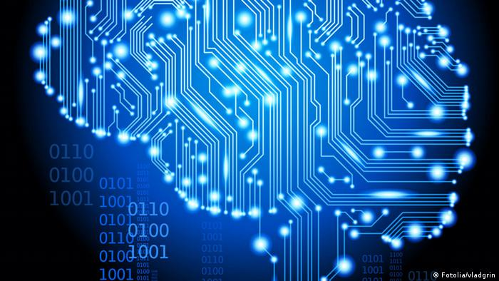 Human brain as an integrated circuit