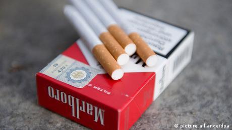 Lebenskosten Zigaretten Marlboro Schachtel