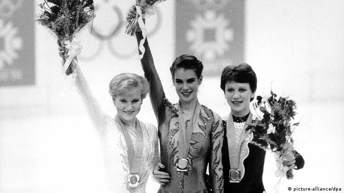 На Олимпиаде в Сараево