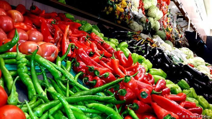Турецкие овощи