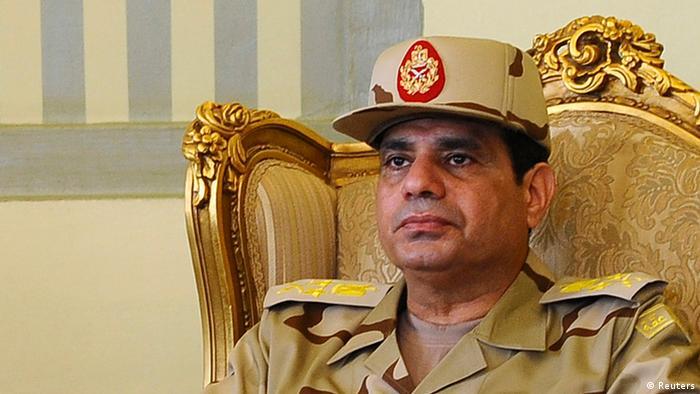 Ägypten Militärchef Al-Sisi zum Feldmarschall befördert