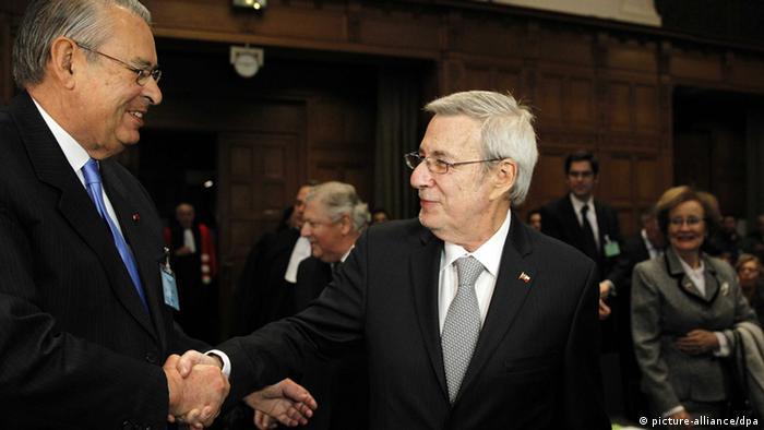 UN-Gericht bestimmt Neuordnung der Seegrenze zwischen Peru und Chile 27.01.2014