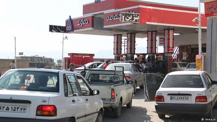 Tankstelle im Iran