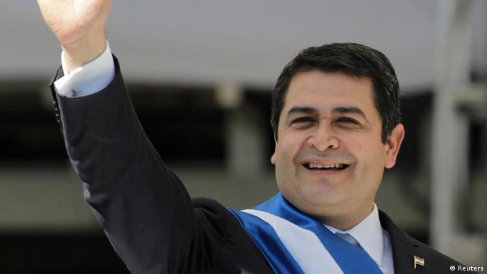 Juan Orlando Hernández (Reuters)