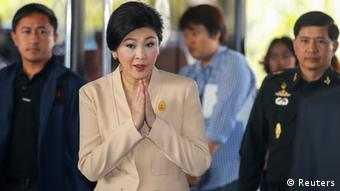 Thailand Premierministerin Yingluck Shinawatra 28.1.2014