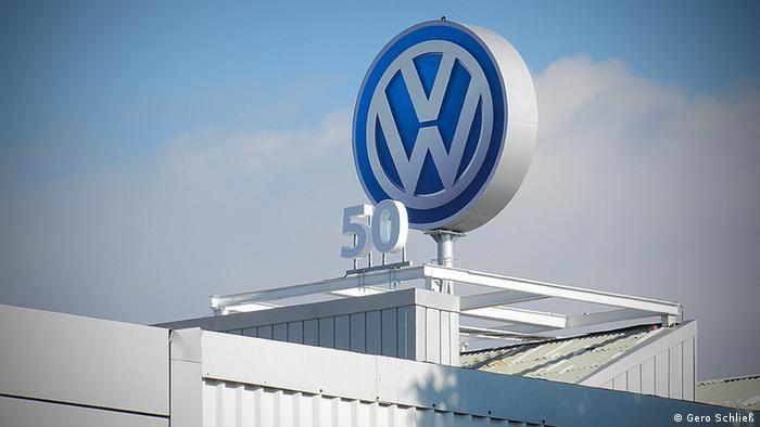 Fábrica de VW en Puebla, México.