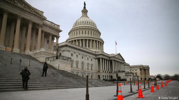 USA Kapitol in Washington Sitz des Kongresses
