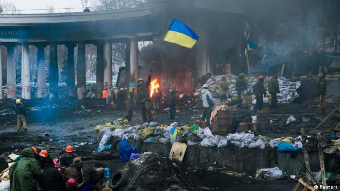 Ukraine Protest in Kiew 28.01.2014