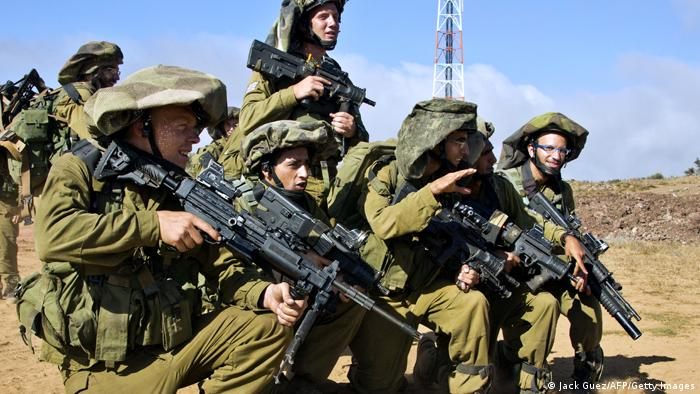 Israel Armee Training Golanhöhen 2013 (Jack Guez/AFP/Getty Images)