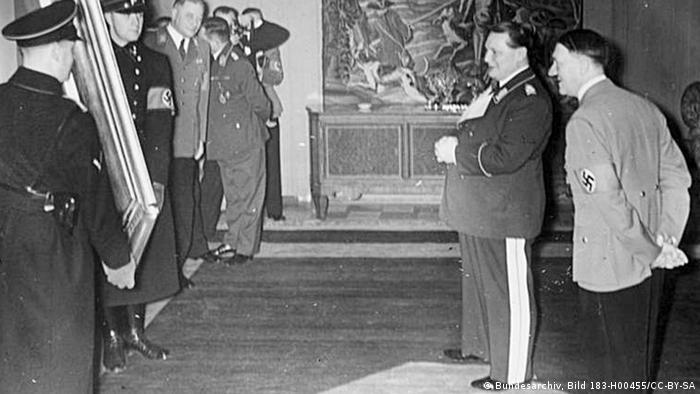 Hermann Göring 45. Geburtstag Gemälde als Geschenk Hitlers