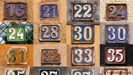 Symbolbild Hausnummern