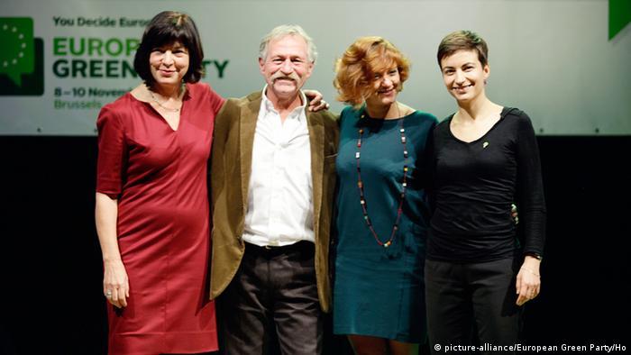 Die Grünen Europawahl 2014 Spitzenkandidaten