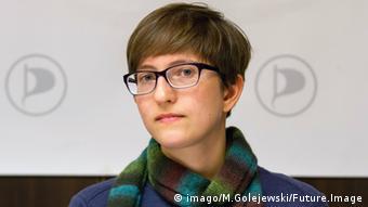 Portrait of Julia Reda, Pirate Party Photo: imago/M.Golejewski/Future.Image