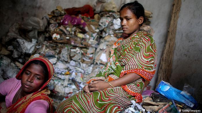 Bildergalerie Bangladesch Müllhalden