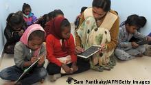 Bildergalerie Weltbildungsbericht Schulkinder Indien