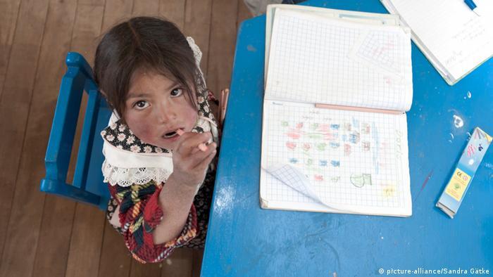 Weltbildungsbericht Kinder in Kindergarten und Grundschule in Peru