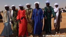 Samari 'yan kabilar filani makiyaya: Some youth from the fulani tribe at the event. Foto: DW-Korrespondent Larouana Mallam Hami in Zinder, Niger, Afrika, 26.01.2014