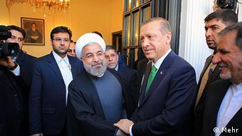 Erdogan Khamenei Iran Türkei