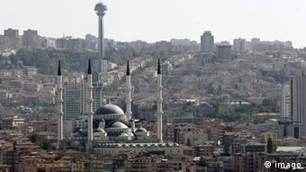 Türkei Blick auf die Stadt Ankara