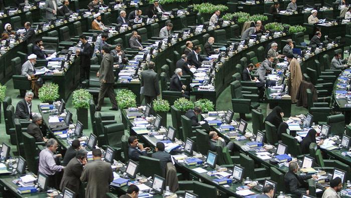 Iran Parlament Abgeordnete Parlamentarier
