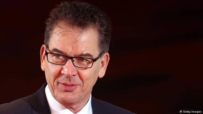 Gerd Müller, German development minister