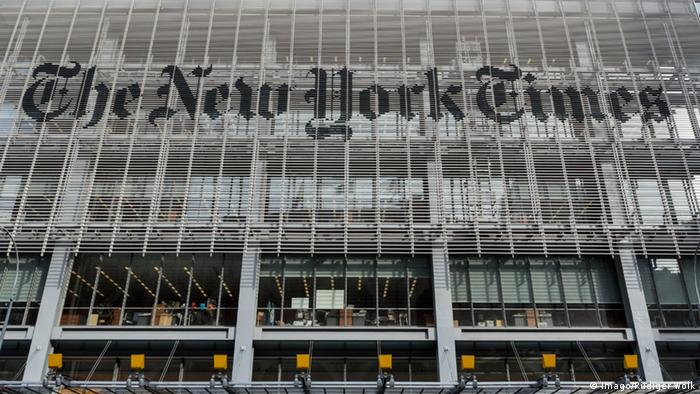 The New York Times Gebäude New York (Imago/Rüdiger Wölk)