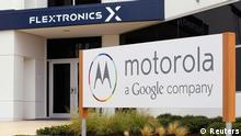 The Flextronics plant that will be building the new Motorola smartphone Moto X is pictured in Fort Worth, Texas in this file photo taken September 10, 2013. China's Lenovo is in the final stages of talks to buy the Google division that makes the Motorola Moto X and Moto G smartphones, as well as certain patents, sources told Reuters on Wednesday. REUTERS/Mike Stone/Files (UNITED STATES - Tags: BUSINESS TELECOMS)