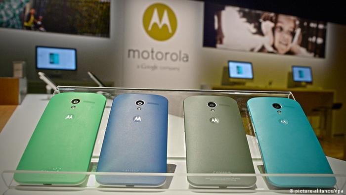 Motorola Moto x Smartphone Ausstellung