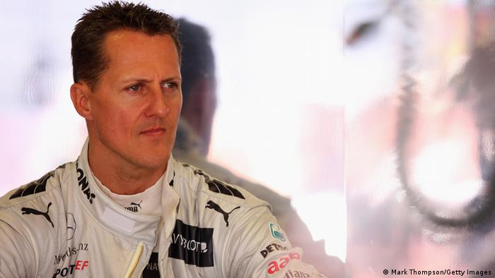 Porträt-Foto von Michael Schumacher (Foto: Mark Thompson/Getty Images)