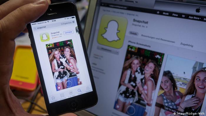 Symbolbild Snapchat