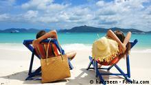 Symbolbild Sommerurlaub Strand