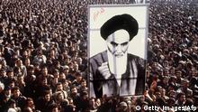Ayatollah Khomeini - islamische Revolution (Getty Images/Afp)